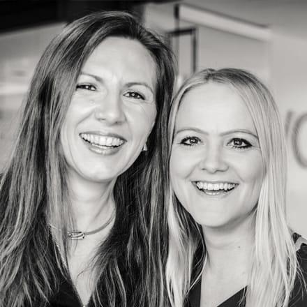 Anja Wagner und Elke Streit